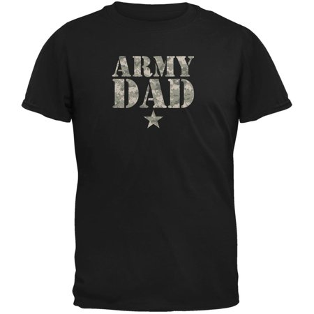 Father's Day Army Dad Black Adult T-Shirt](Father's Day Diy)