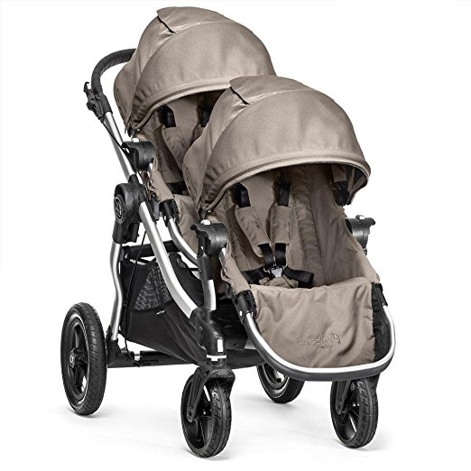Baby Jogger City Select Double Stroller with Second Seat