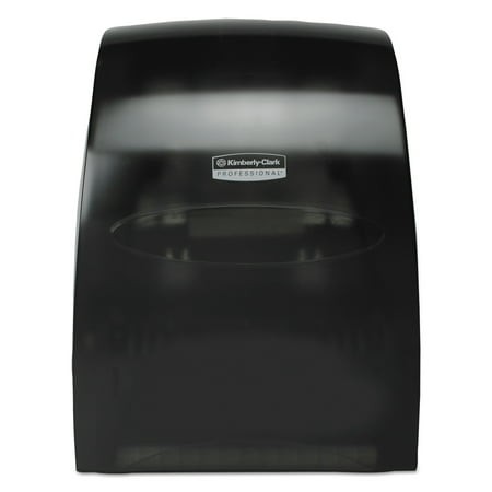 Kimberly-Clark Professional* Sanitouch Hard Roll Towel Dispenser, 12 63/100w x 10 1/5d x 16 13/100h, Smoke