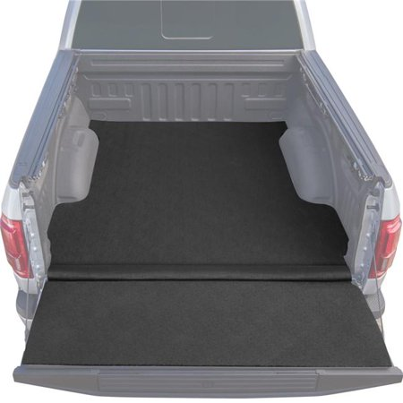 Husky Liners 12551 Ultragrip Truck Bed Mat & Built in Tailgate Mat, Black - Thermoplastic Olefin ()