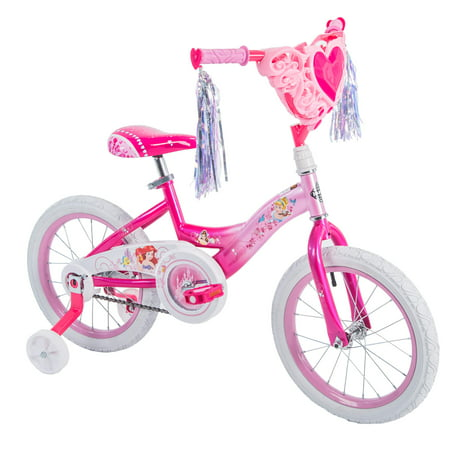 "Disney Princess 16"" Girls' Bike by Huffy, Pink"
