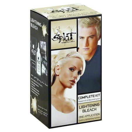 Splat 30 Wash Hair Dye Kit Semi Permanent Blue Envy Hair Color