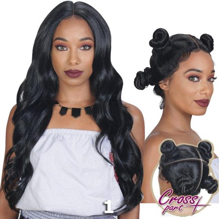 Sis 360 Cross Part Lace Front Wig - BODY (Strawberry - Strawberry Shortcake Wig