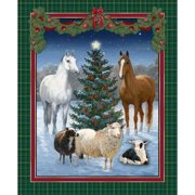 "Springs Creative The Gift 2 Wall Hanging, Multi-Colored, 43/44"" Wide, Fabric By the Yard"