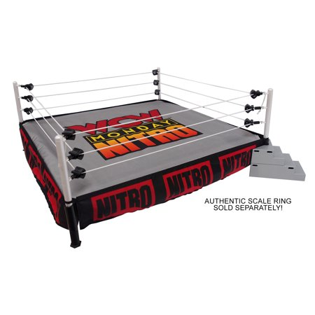 Package Deal - WCW Monday Nitro - (Ring Skirt & Mat) - Ringside Exclusive (Ring not included)