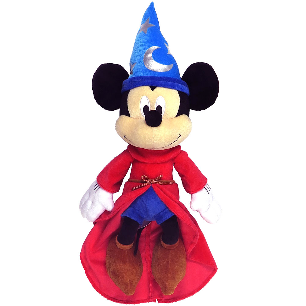 "Disney Sorcerer's Apprentice Mickey Mouse Stuffed Animal Plush Toy 15"" Tall"