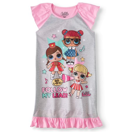 Girls' LOL Surprise! Pajama Nightgown (Girls Sleepwear)
