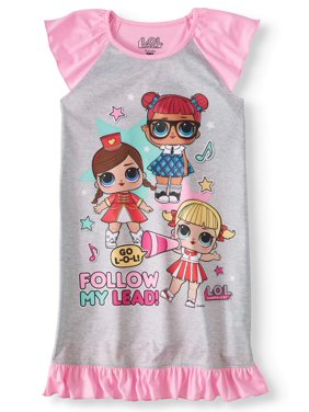e725418cb14f Big Girls Pajamas   Robes - Walmart.com