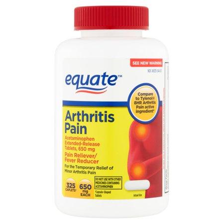 equate arthrite Caplets, 325 count