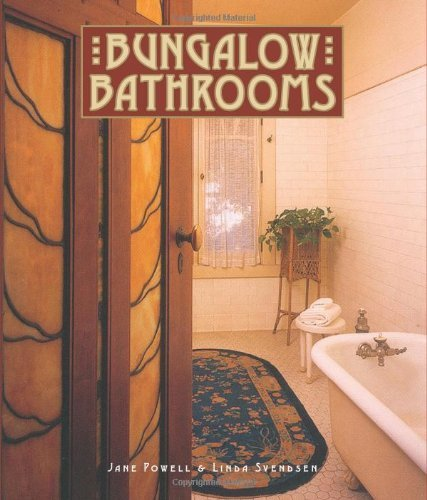Bungalow Bathrooms by Jane Powell by