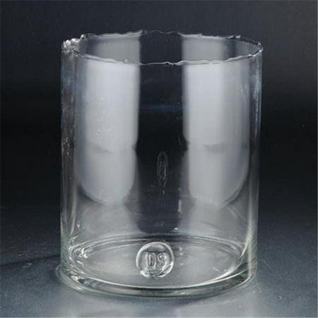 Diamond Star 45024 11 X 10 In  Glass Vase  44  Clear