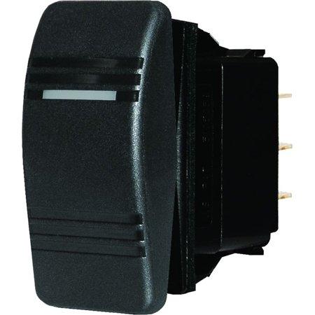 Blue Sea Systems Black SPST Contura Switch, Off/On (Sea Systems Waterproof Contura Switches)