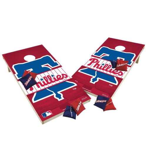 TTXL Shield Design 1MLB Philadelphia Phillies Bean Bag Toss Game