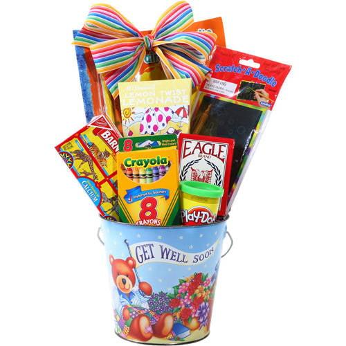 Alder Creek Kid's Get Well Soon Gift Pail