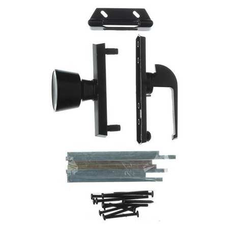 Universal Knob Latch. Black WRIGHT PRODUCTS V670BL