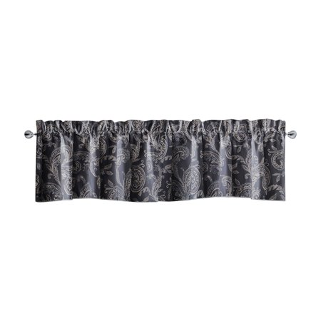 Taupe Scallop (Waterford Florence Scalloped Valance by Waterford)