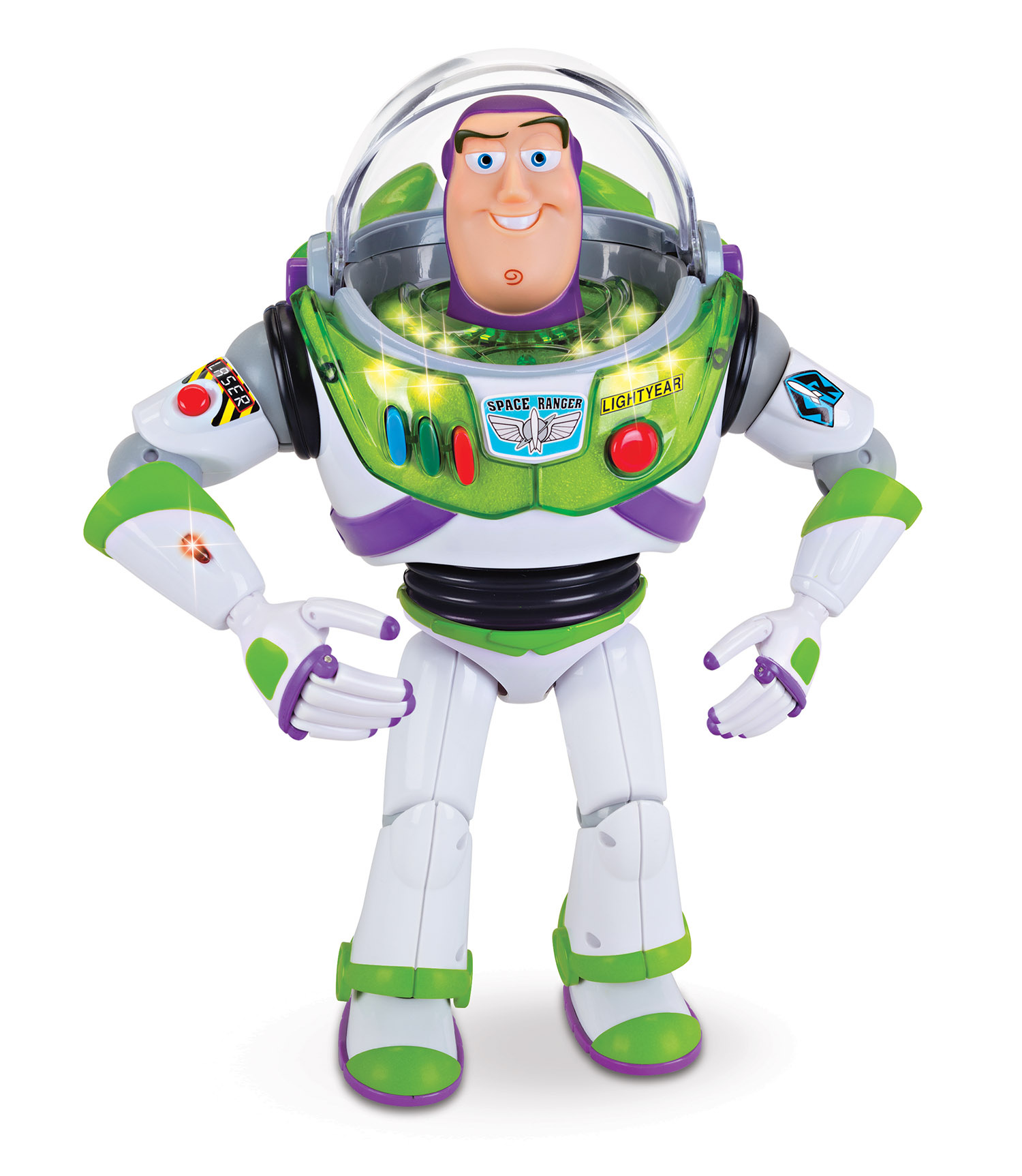 Toy Story Power Up Buzz Lightyear Talking Action Figure by Thinkway Toys