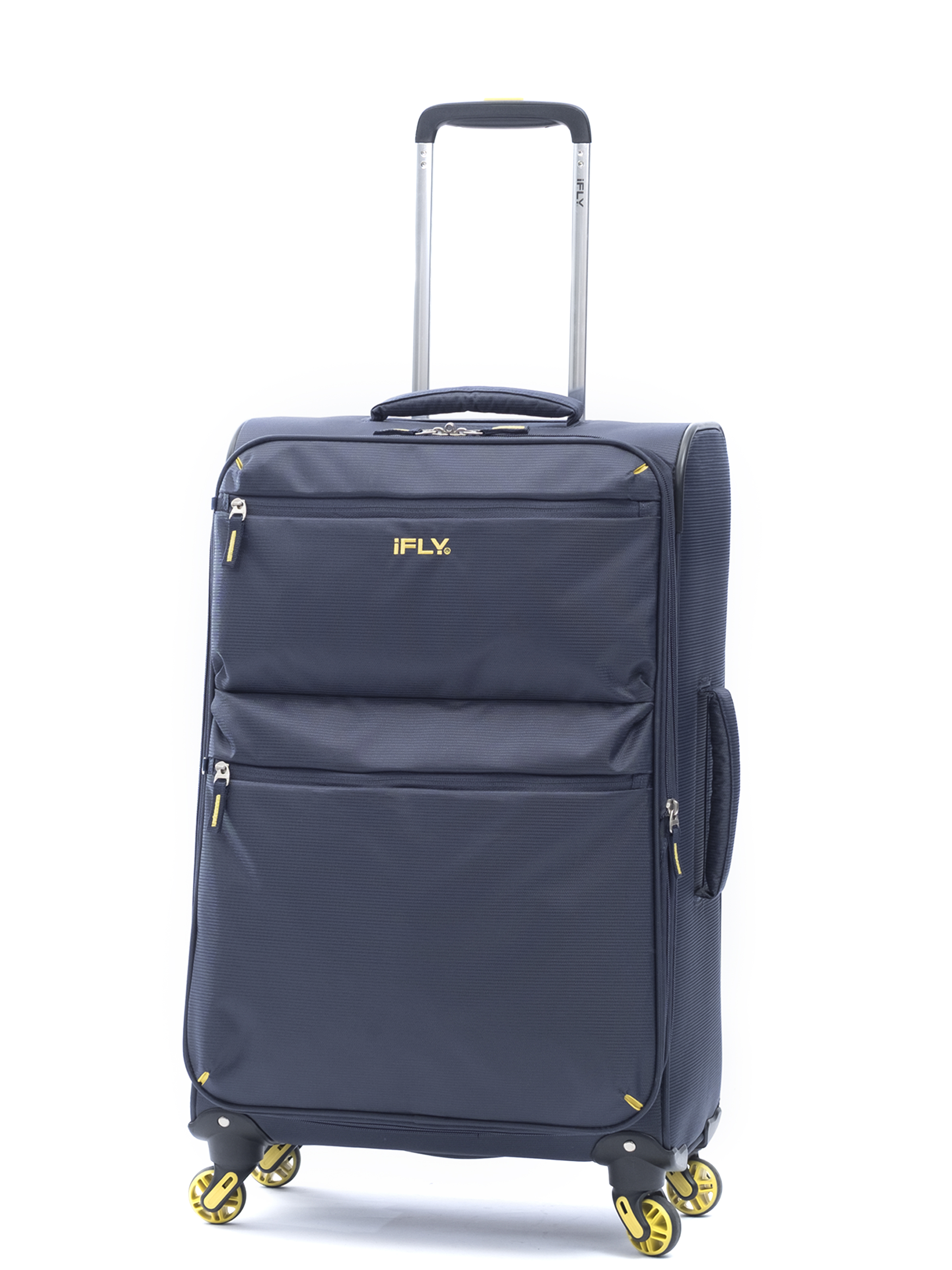 iFLY Soft Sided Luggage Ez Glider 24, Navy