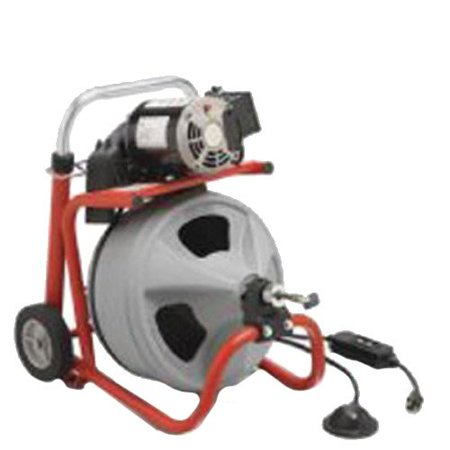 "Ridgid Model K-400 Drain Cleaners - k-400 drain cleaning machine w/ 3/8""x75' cable"