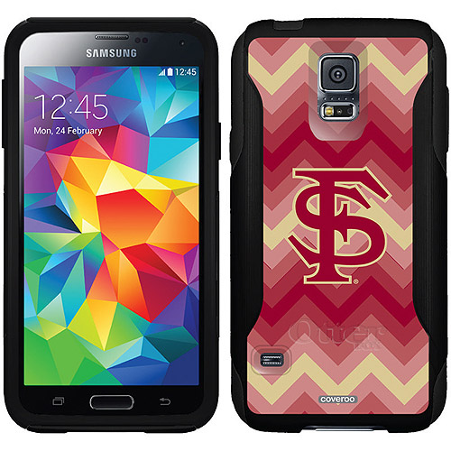 Florida State Lined Chevron Design on OtterBox Commuter Series Case for Samsung Galaxy S5
