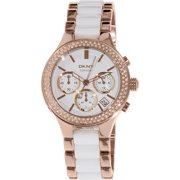 Women's Broadway NY8183 Rose Gold Ceramic Quartz Watch