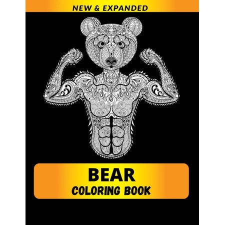 Bear Coloring Book : Stress Relieving Designs Coloring Book For Adults (Paperback)
