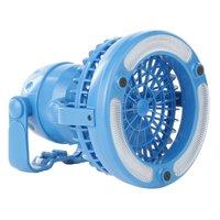 Wakeman 2 in 1 Portable Camping Lantern with Fan, Model #W470048, Blue