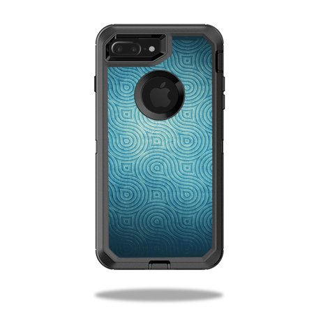 MightySkins Skin For OtterBox Defender iPhone 8 Plus | Protective, Durable,  and Unique Vinyl Decal wrap cover | Easy To Apply, Remove, and Change