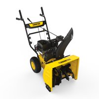 Champion Power Equipment Champion 224cc Compact 24-Inch 2-Stage Gas Snow Blower with Electric Start - Black
