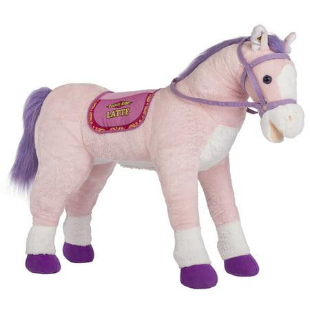 Rockin Rider Latte Stable Horse