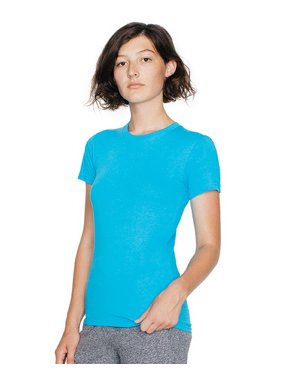 19ea385ad859 Product Image American Apparel 2102W Women s Fine Jersey T-Shirt (31  colors)-Baby Blue