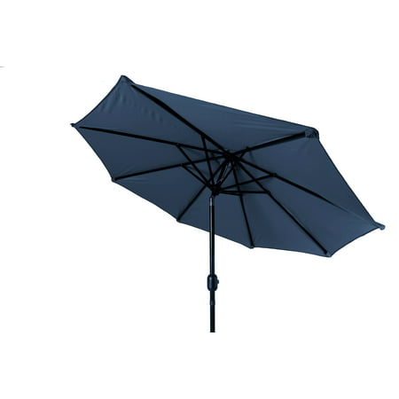 Trademark Innovations 10' Tilt Crank Market Patio Umbrella, (Team Umbrella)