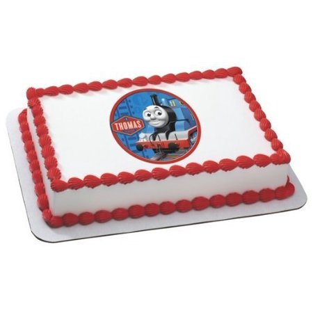 Thomas The Train Edible Icing Image For 1 4 Sheet Cake