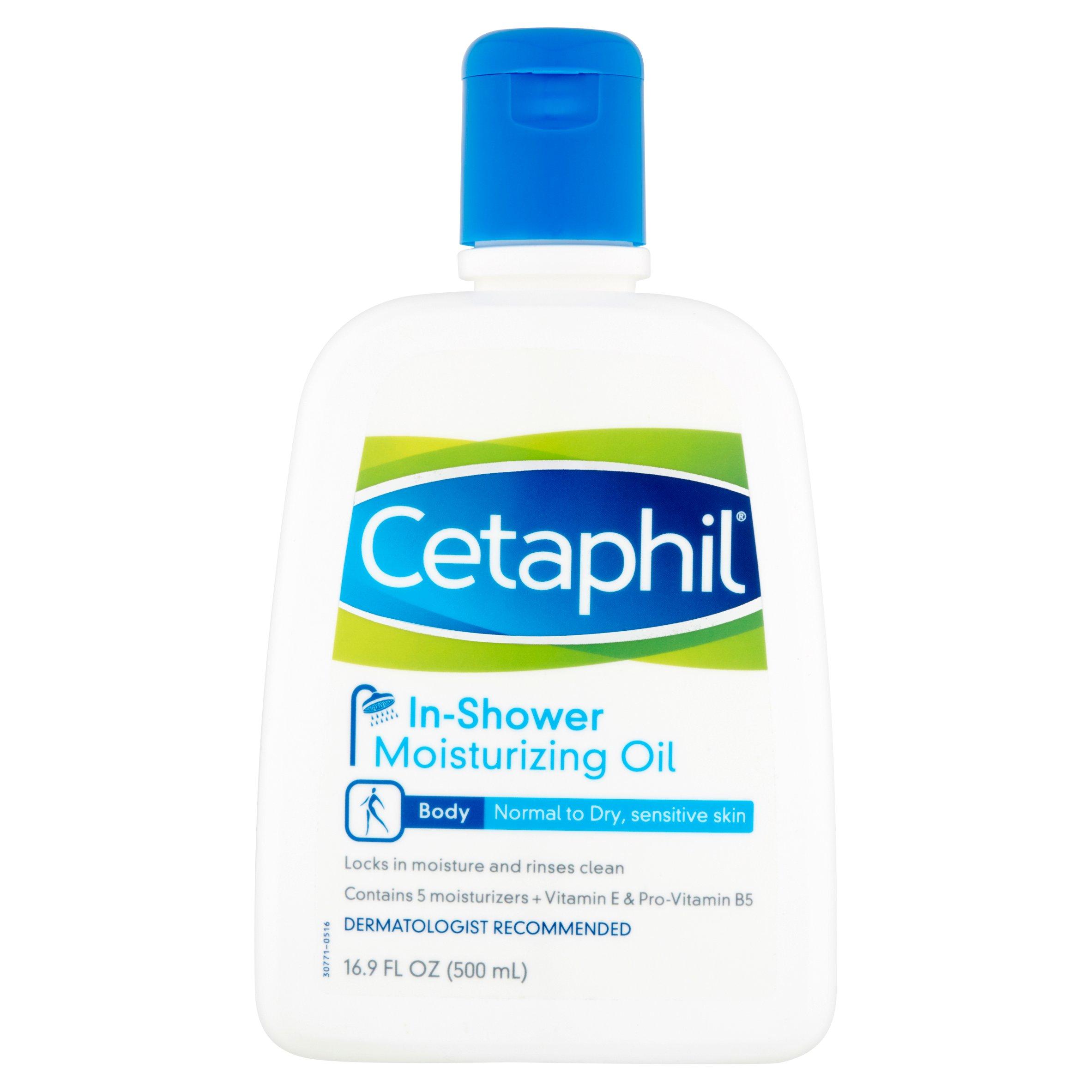 Cetaphil In-Shower Moisturizing Oil, 16.9 fl oz