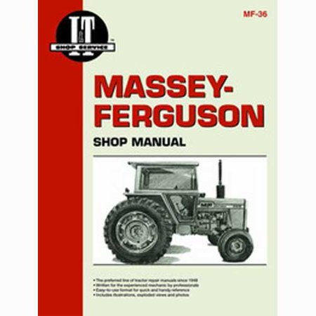 I&T Shop Manual, New, Massey Ferguson