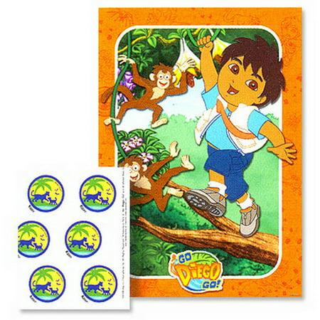 GO DIEGO GO PARTY GAME](Diego Birthday Party)