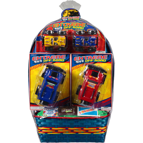 Wondertreats Extreme 4x4 Off-Road with Toys and Candy Easter Basket