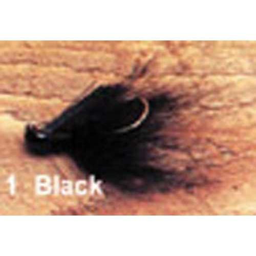 Arkie 1 8 Bucktail 6 cd Black by