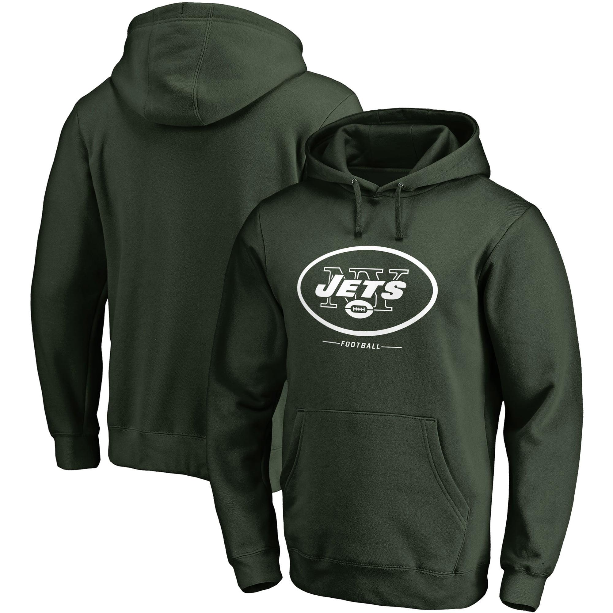 New York Jets NFL Pro Line Big & Tall Team Lockup Pullover Hoodie - Green