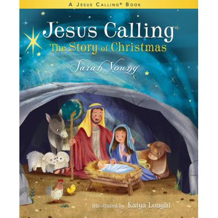 Jesus Calling: The Story of Christmas (Board Book) (Board