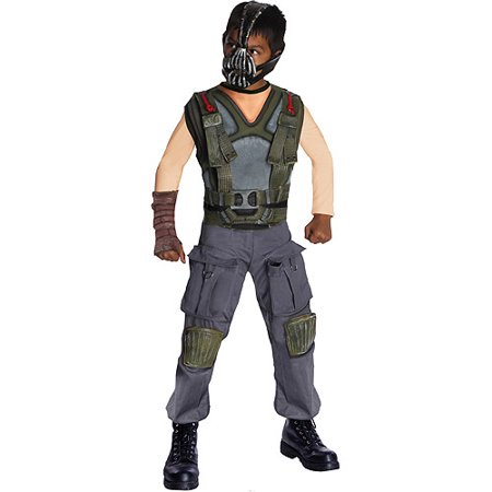 Deluxe Bane Child Halloween Costume - Bane For Halloween