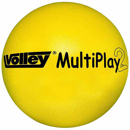 "Volley SuperSkin-2 Multi-Play Ball, 6.25"", Yellow"