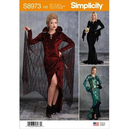 Creative Group Halloween Costumes 2019 (Simplicity US8973H5 Womens Halloween Costume, Size)