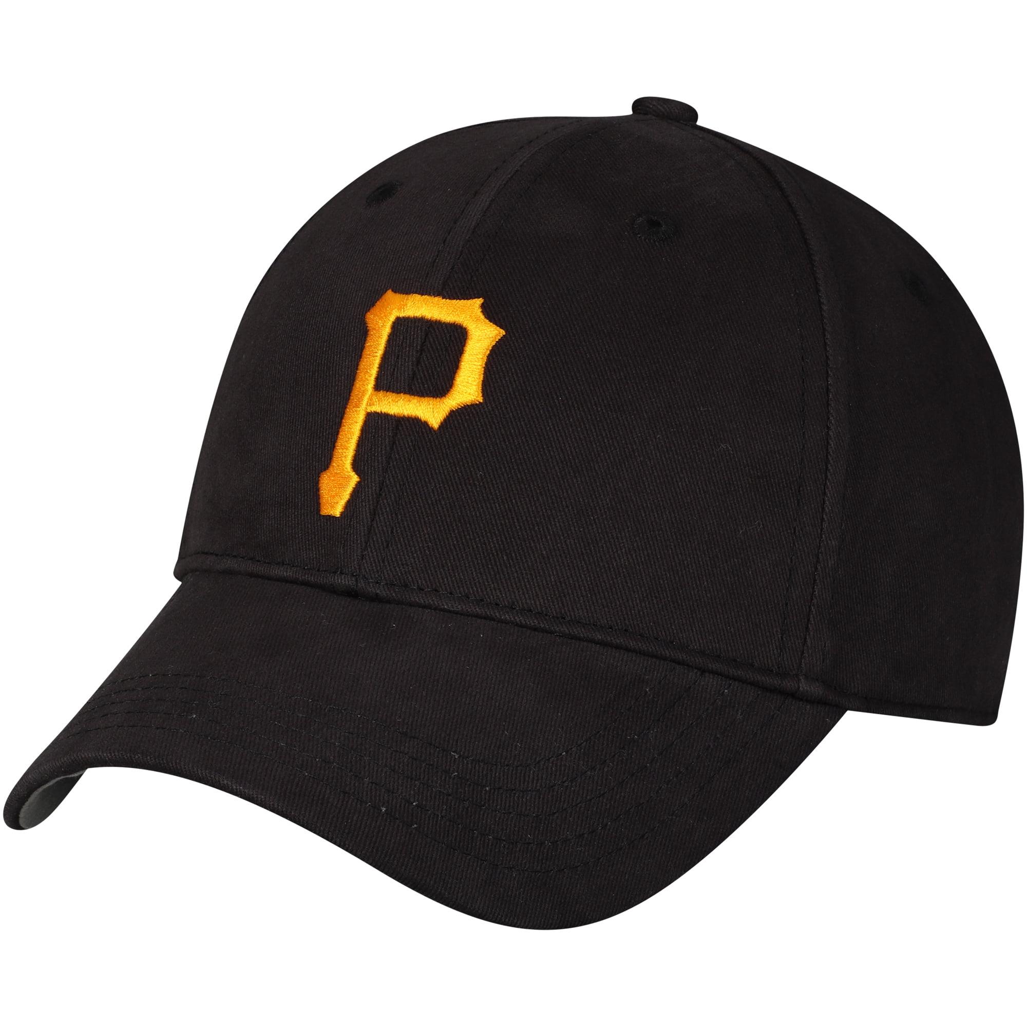 Pittsburgh Pirates Fan Favorite Youth Basic Adjustable Hat - Black - OSFA