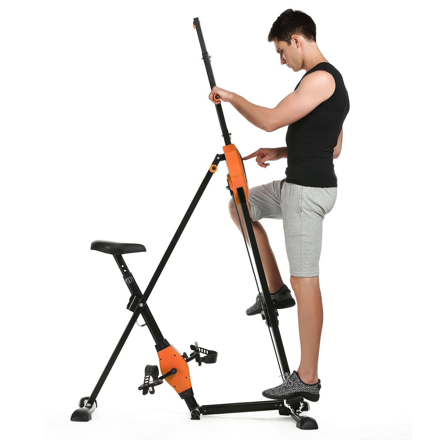 Professional Vertical Climber Total Body Workout - Home Gym Exercise Equipment WLT