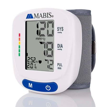 MABIS Blood Pressure Monitor Wrist Cuff Fully Automatic Digital BP Machine Monitor Cuff for Wrist Monitor High Blood Pressure](Wrist Cuffs)