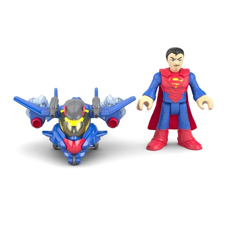 Imaginext DC Super Friends Battle Armor Superman](Max Steel Characters)