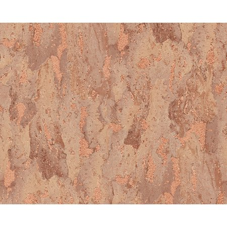 Dekora Natur 6 - Naturally Multifaceted Brown Wallpaper Roll - image 1 de 1