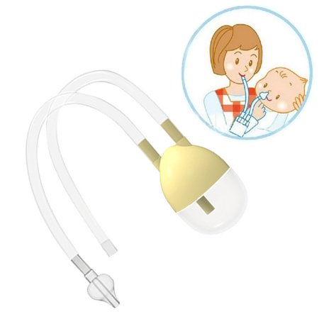 Infant Nose Cleaner New Born Baby Safety Nose Cleaner Vacuum Suction Nasal Aspirator Flu Protection Accessories