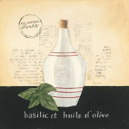 Huile Olive (Huile d Olive III Poster Print by Emily Adams)